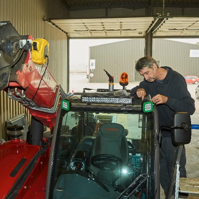 ENGELBOSCH I onderhoud vrachtwagens